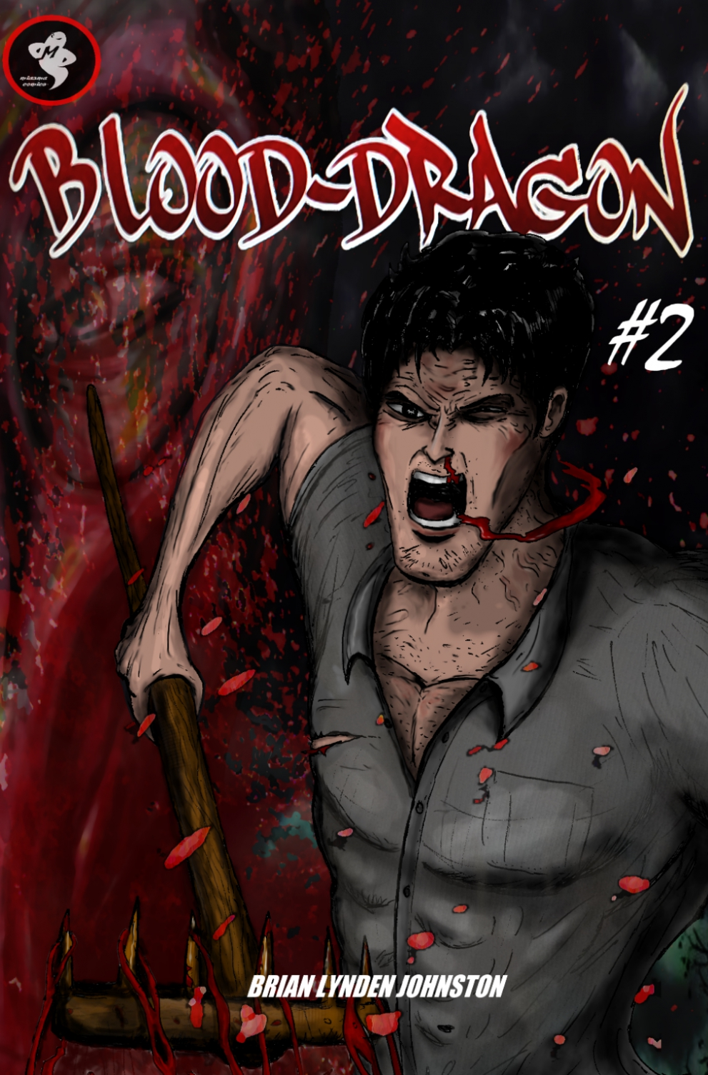 Blood-Dragon #2 - Cover